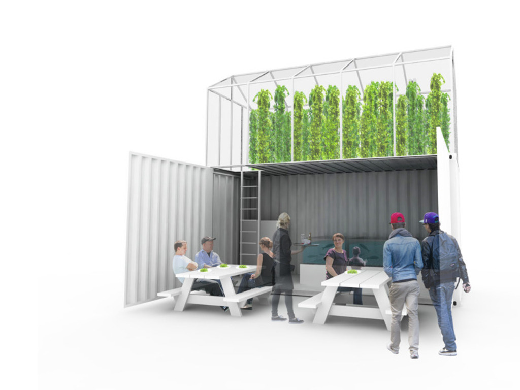 GrowUp! An aquaponic urban farm for London's video poster