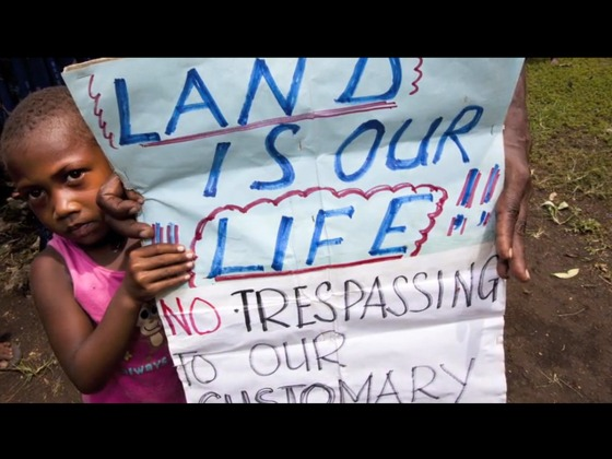 Stop Land Grabbing in Papua New Guinea