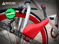 SEATYLOCK- Bicycle Saddle & Lock in One Amazing Product