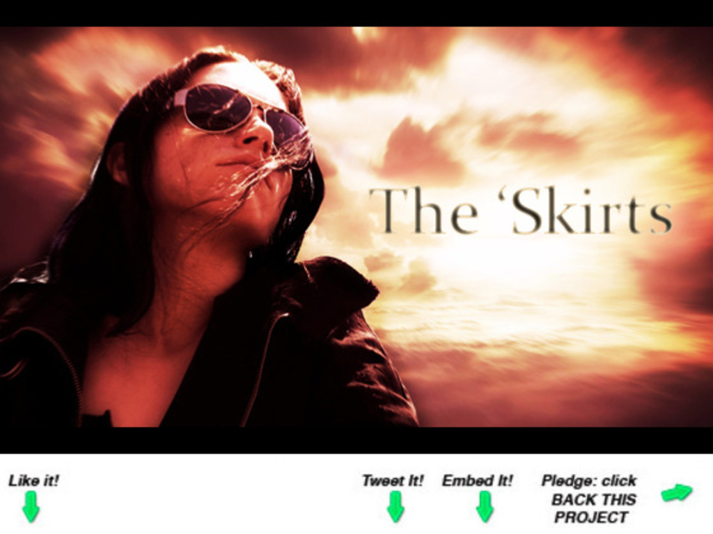 The 'Skirts - (A Post-Apocalyptic Short Film)'s video poster