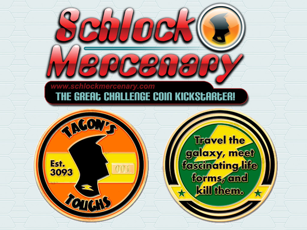 Schlock Mercenary Challenge Coins's video poster