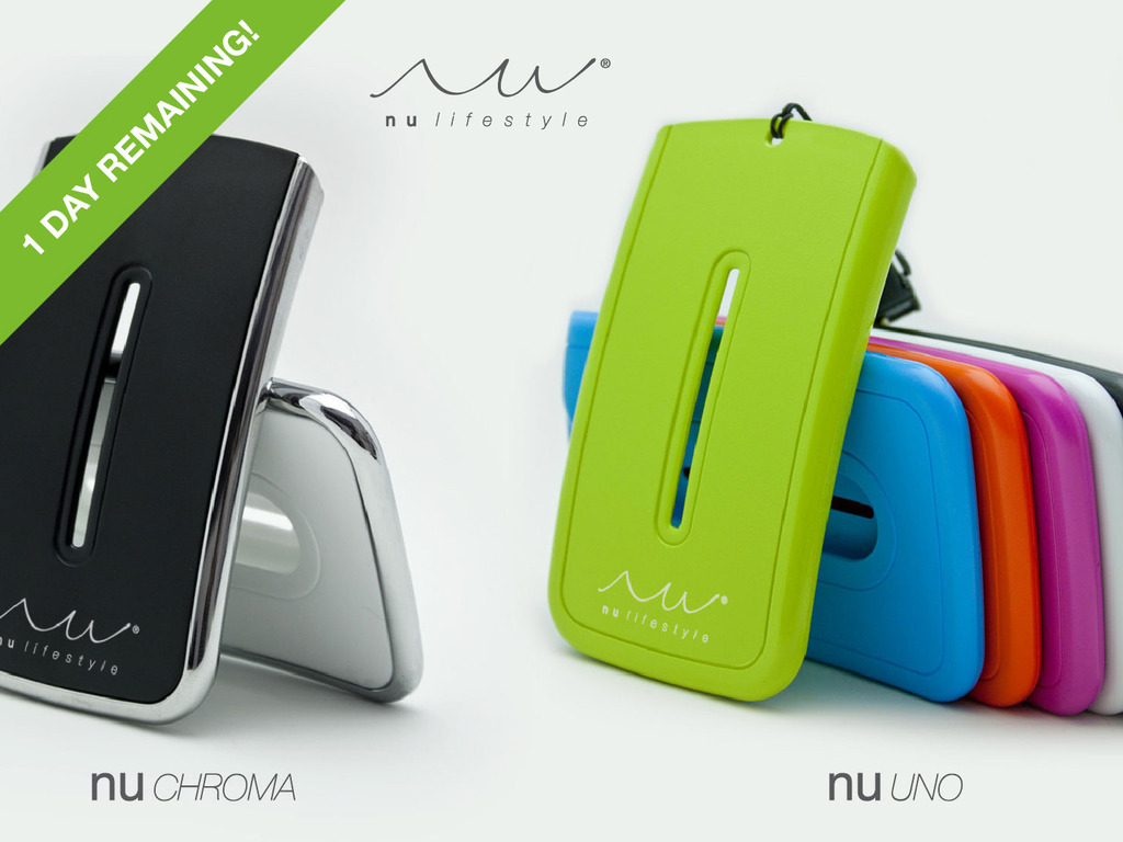 NU Lifestyle Card Holder/Wallet - take what you need's video poster