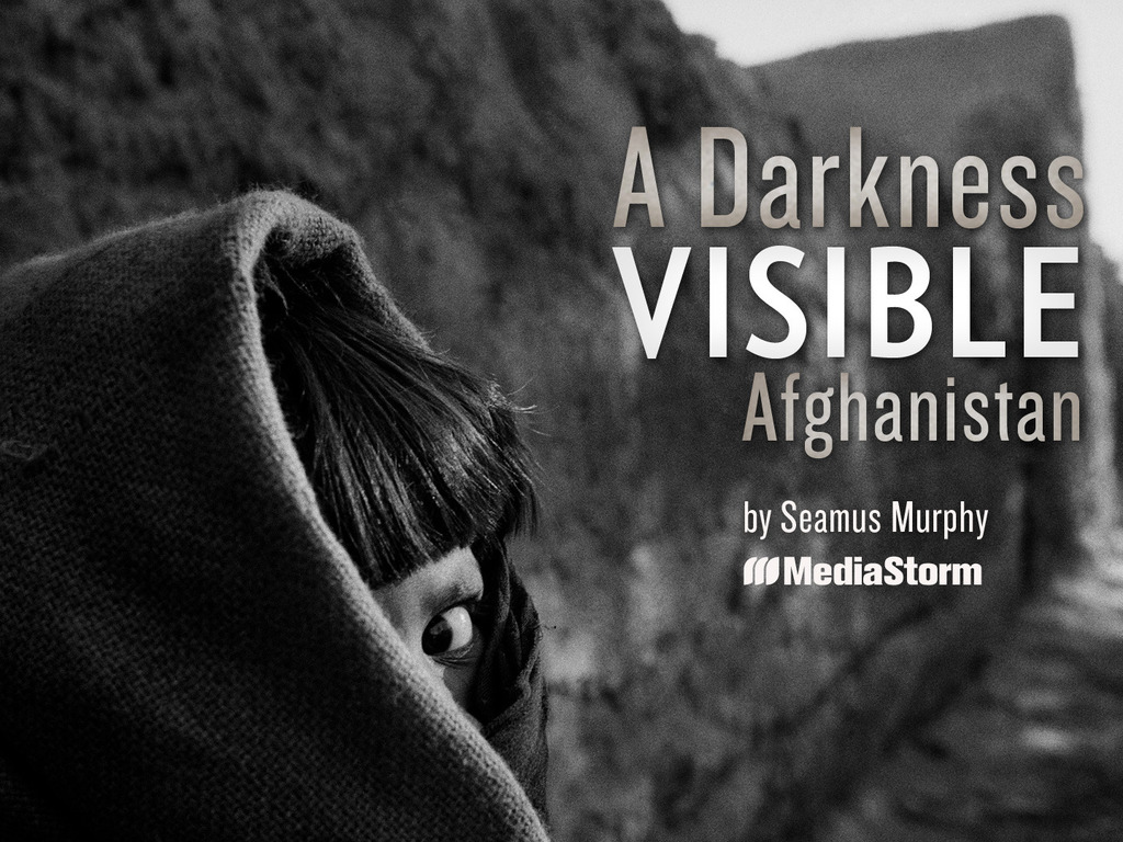 A Darkness Visible: Afghanistan's video poster