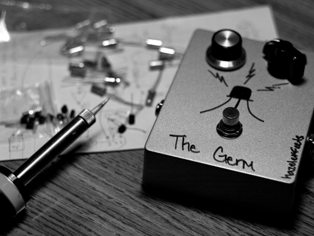 """""""The Germ"""" Boutique Handwired Hybrid Guitar Fuzz Pedal's video poster"""