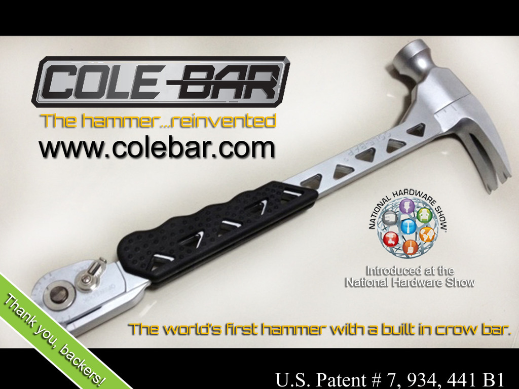 The Cole-Bar Hammer's video poster