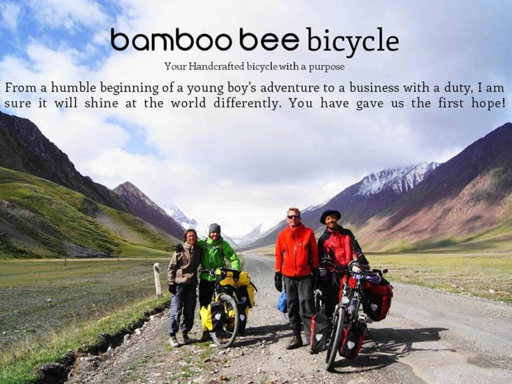 Bamboo bee Bicycle's video poster