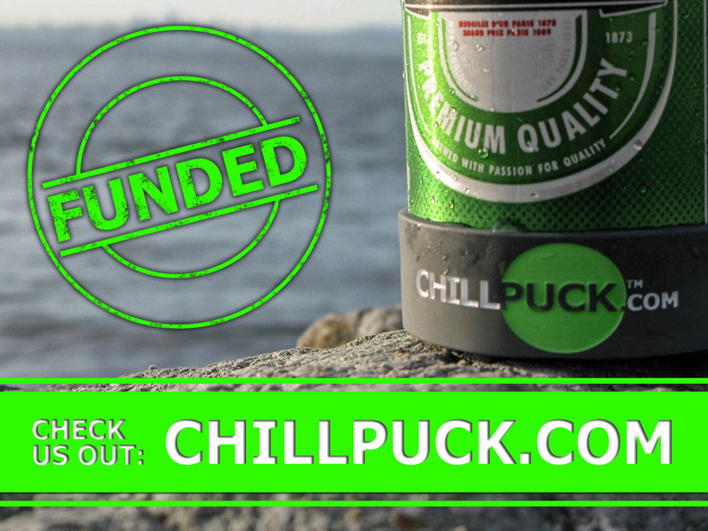 Chill Puck - Keep your beverage colder, longer.'s video poster