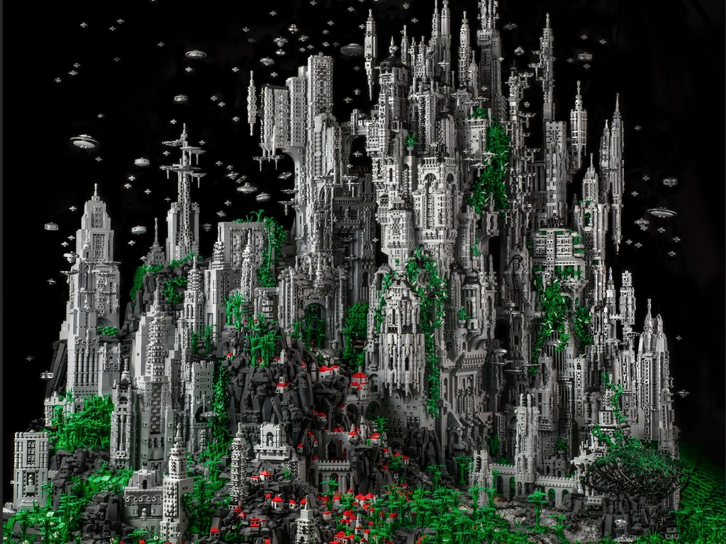 CONTACT 1: A 200,000 Piece LEGO Masterwork's video poster