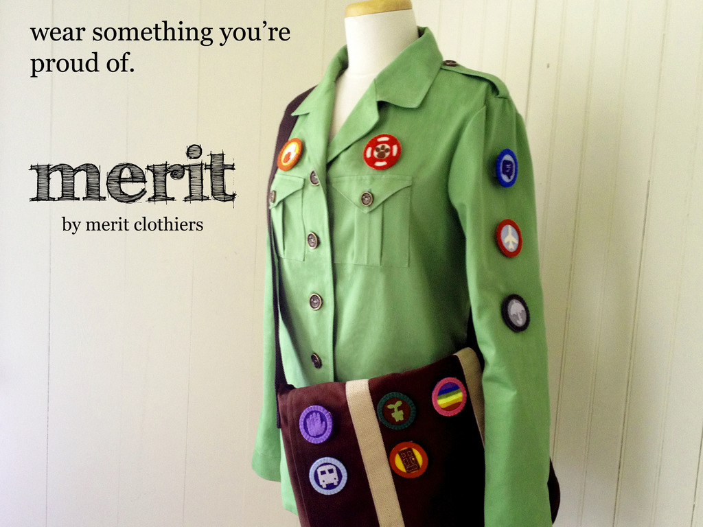 Merit Clothiers- Inspiring Others to do Good Deeds.'s video poster