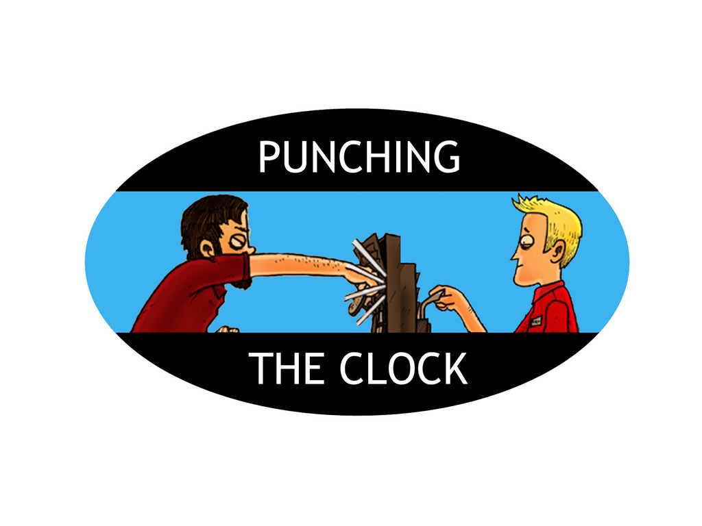 Punching the Clock: Punching the Kickstarter's video poster