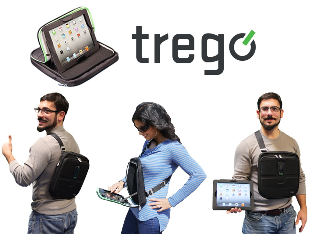 Trego - The Wearable iPad Case's video poster