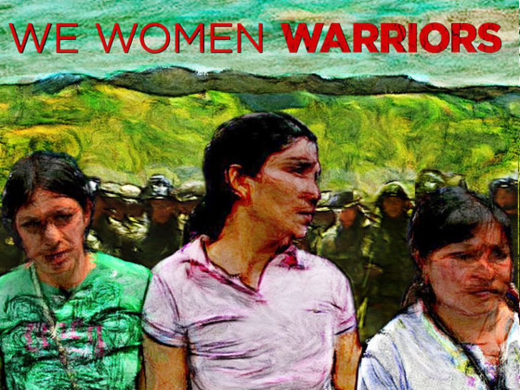 Distribution of documentary WE WOMEN WARRIORS's video poster