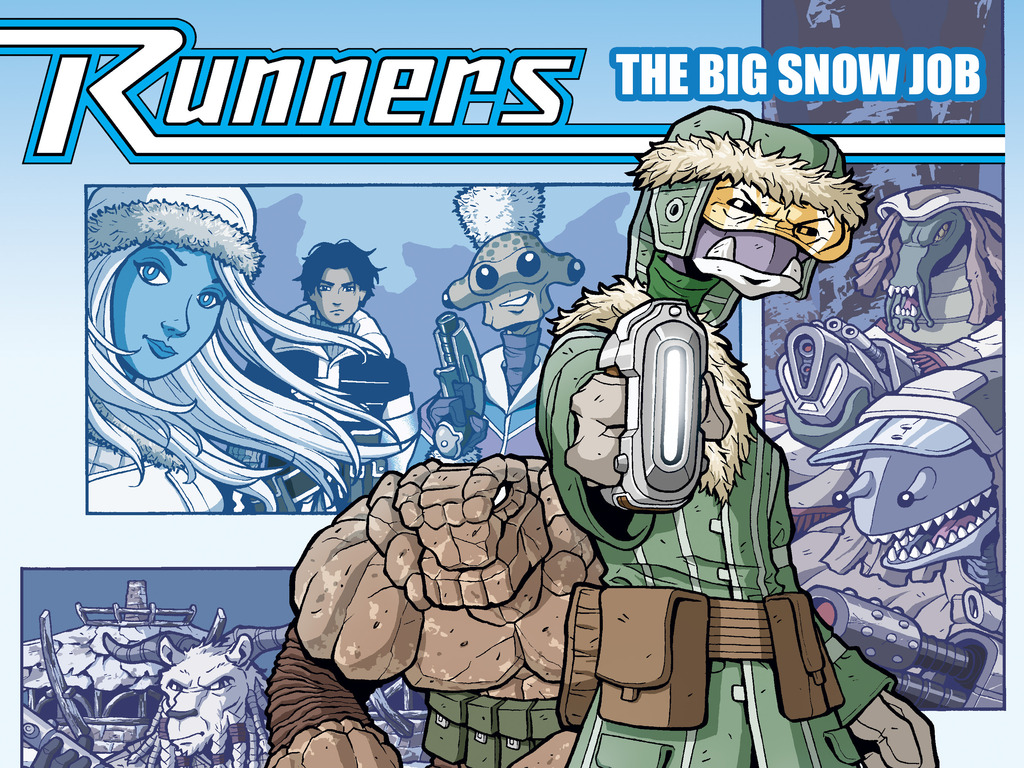 Runners: The Big Snow Job - Graphic Novel's video poster
