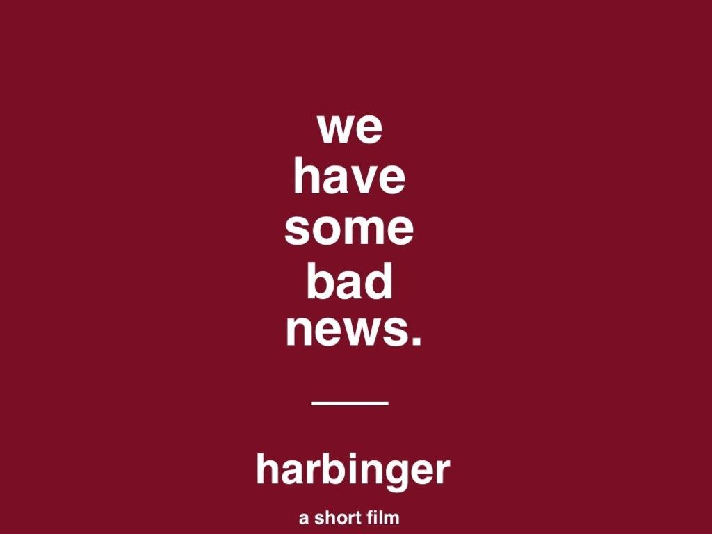 Harbinger's video poster