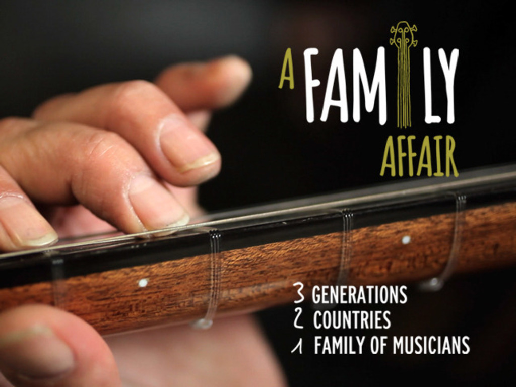 A Family Affair's video poster