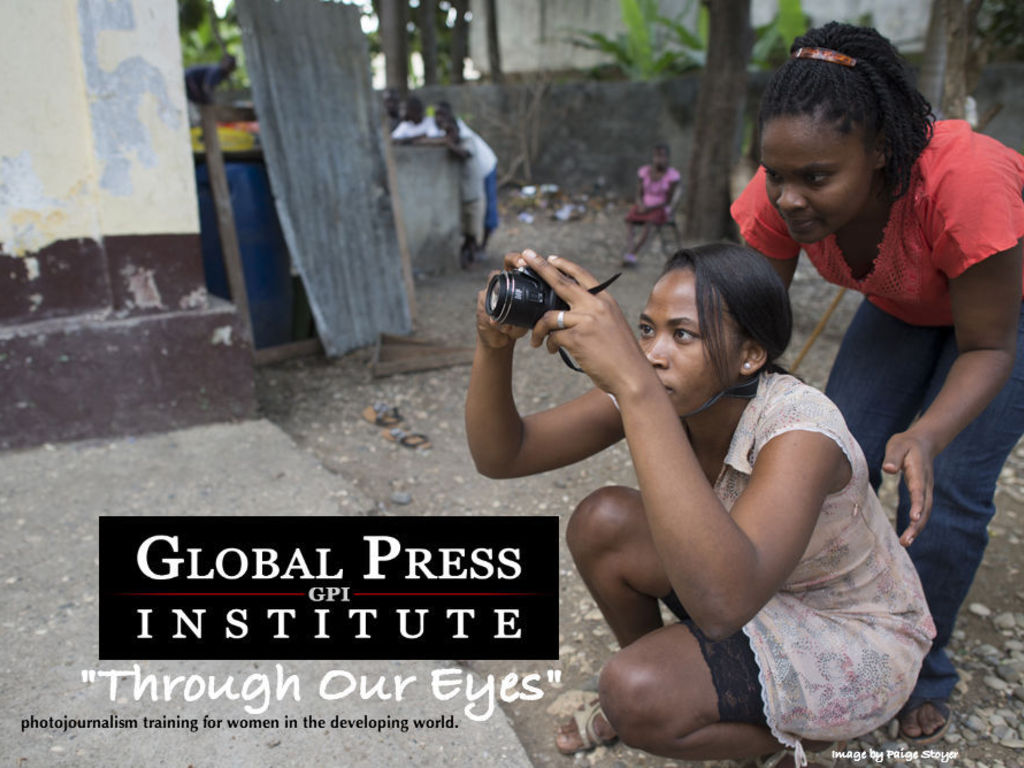 Through Our Eyes: Photojournalism for Women Around the World's video poster