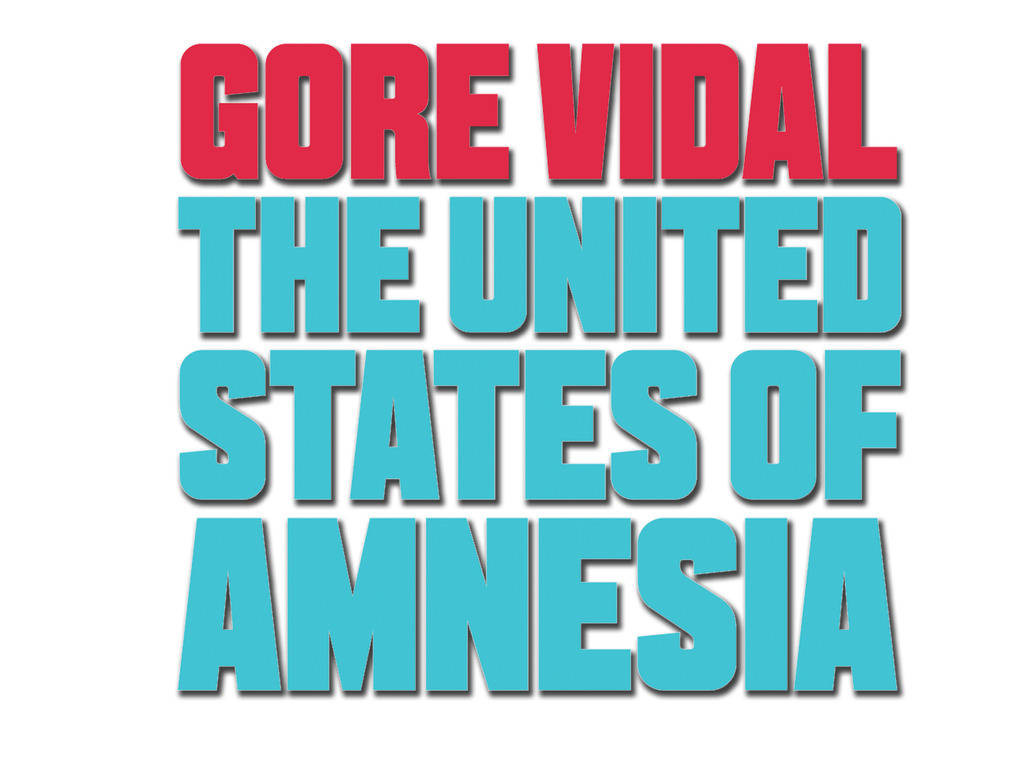GORE VIDAL: The United States of Amnesia's video poster