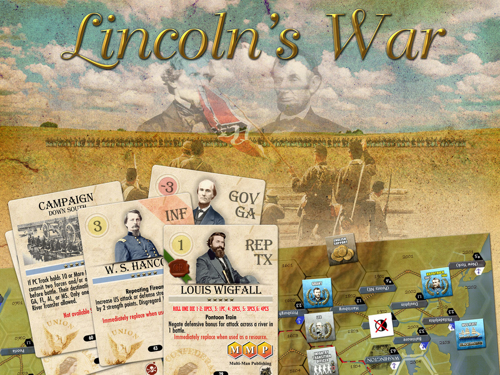 Lincoln's War - A Historical Board Wargame's video poster