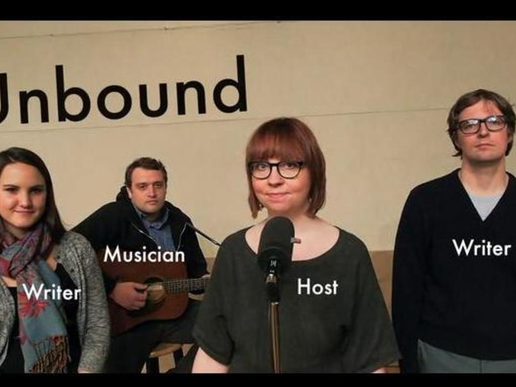 Unbound: Fiction on the Radio's video poster