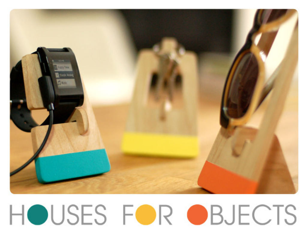 Houses for Objects: A place to live for your everyday things's video poster