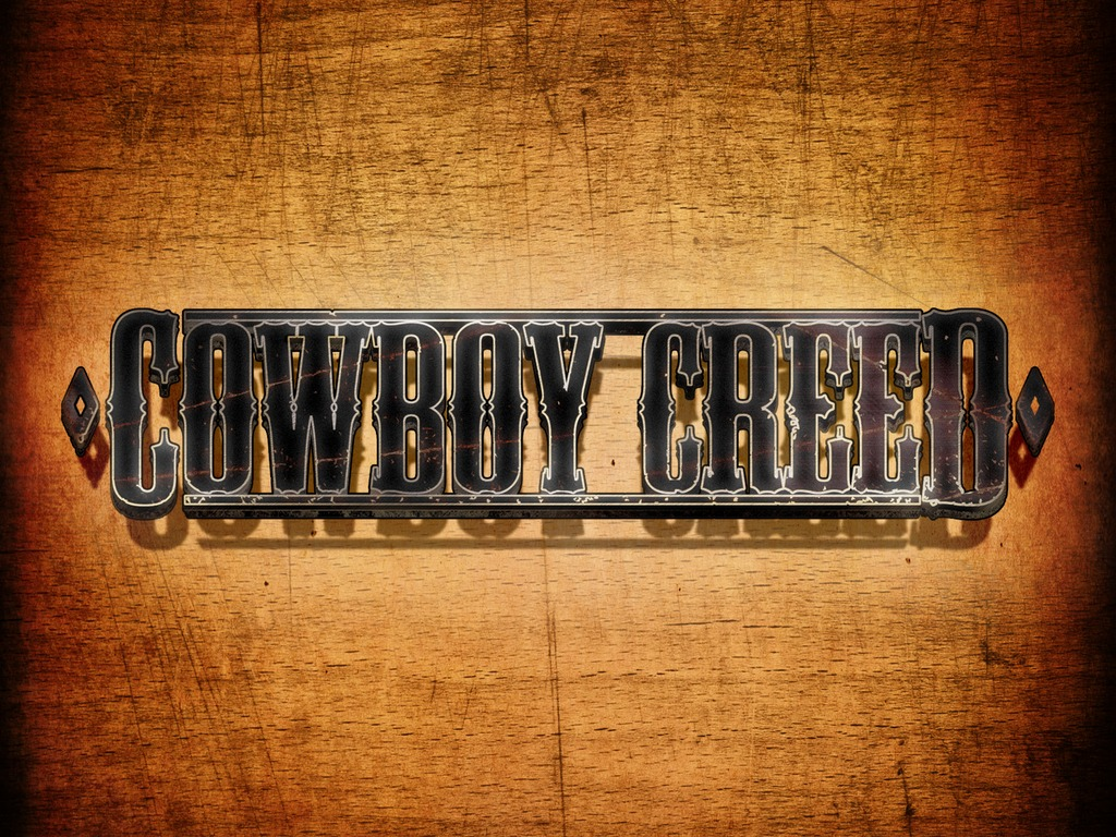 Cowboy Creed - Short Film's video poster