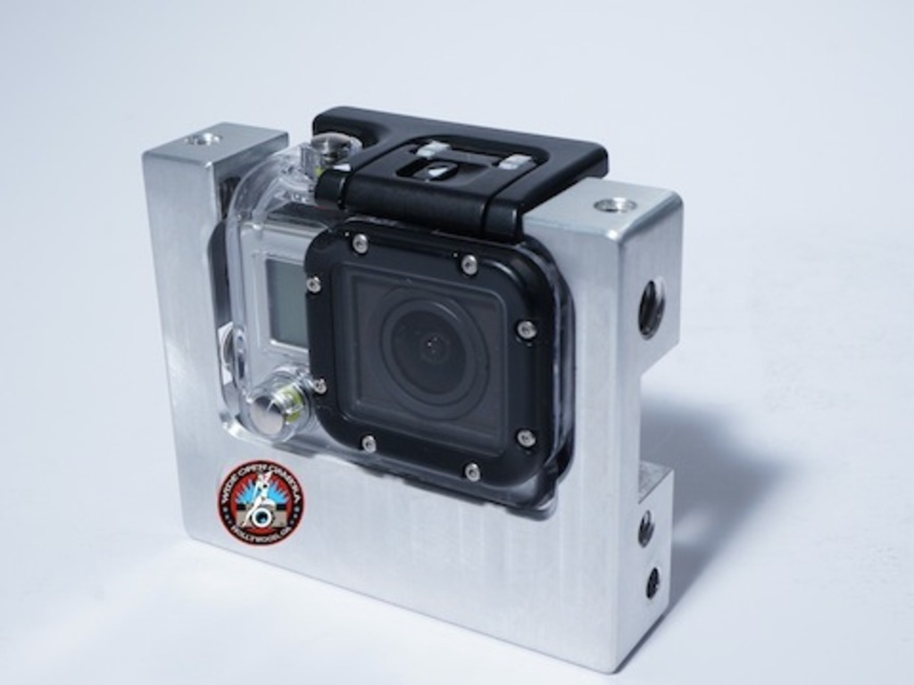 Wide Open Camera Combat Cage For The GoPro Hero 3.'s video poster