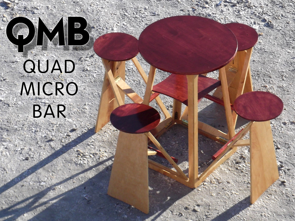 QMB, Quad Micro Bar, Social Seating for Thirsty People's video poster