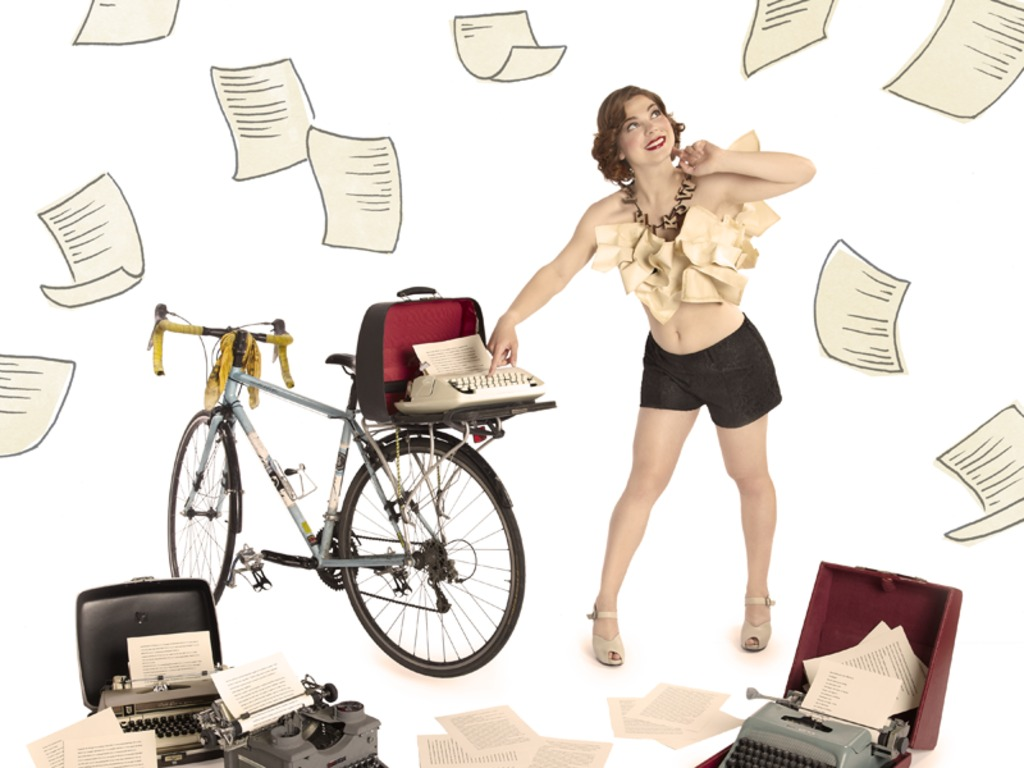 Thought You Knew 2012: Bicycle Chick Pinup Calendar's video poster