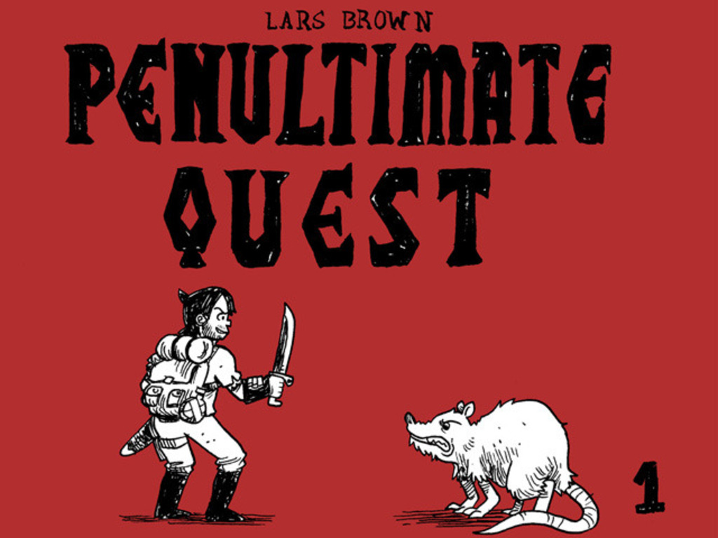 Penultimate Quest by Lars Brown - Book 1's video poster