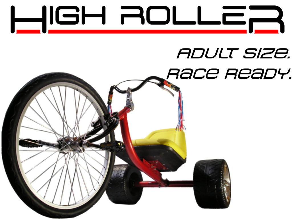 The HIGH ROLLER: Adult Size Big Wheel Trike's video poster