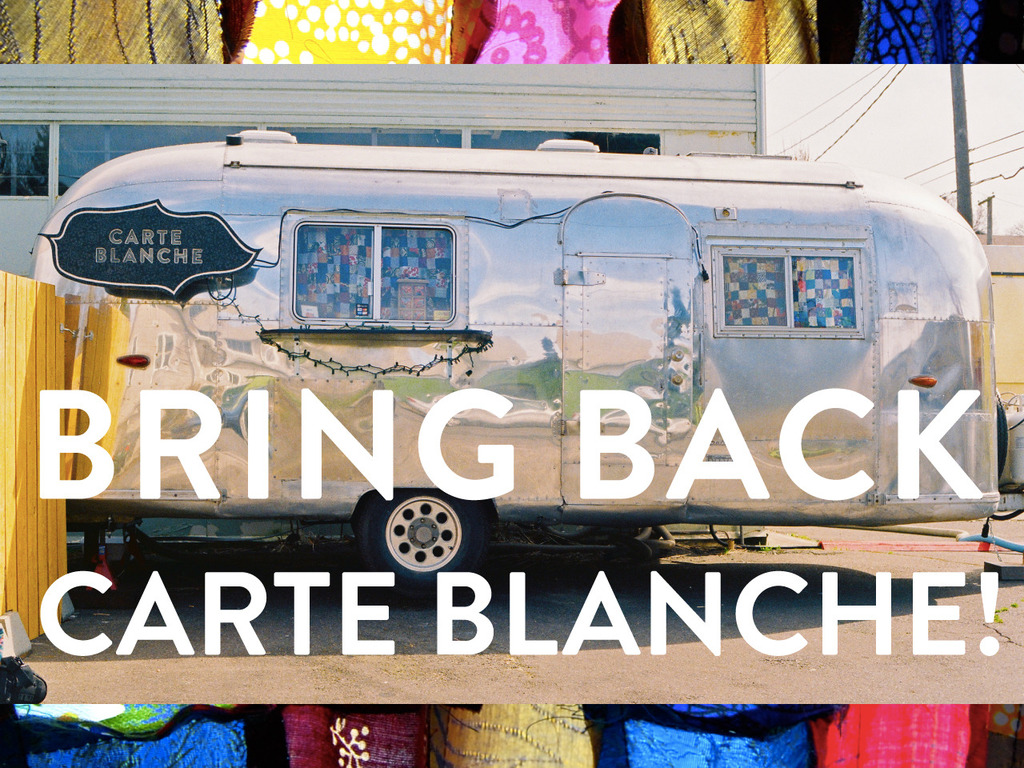 Bring Back Carte Blanche!'s video poster