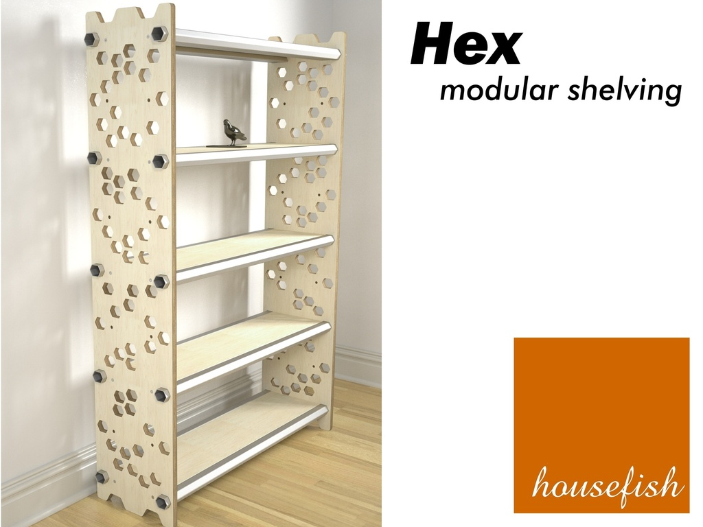 Hex Modular Shelving's video poster