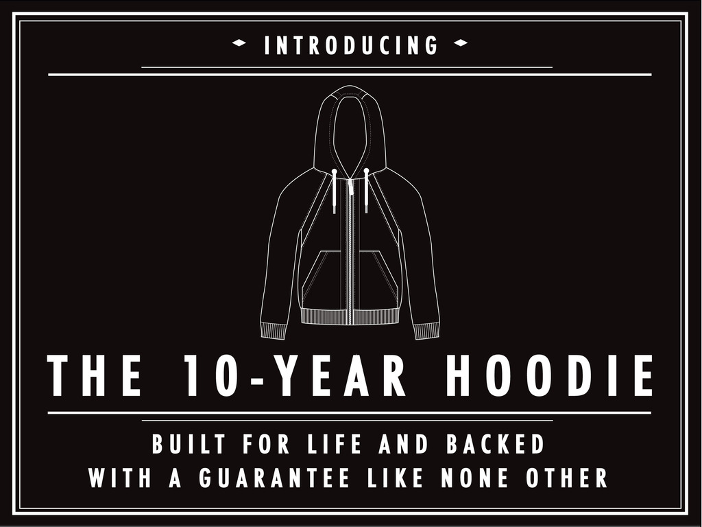 THE 10-YEAR HOODIE: Built for Life, Backed for a Decade!'s video poster