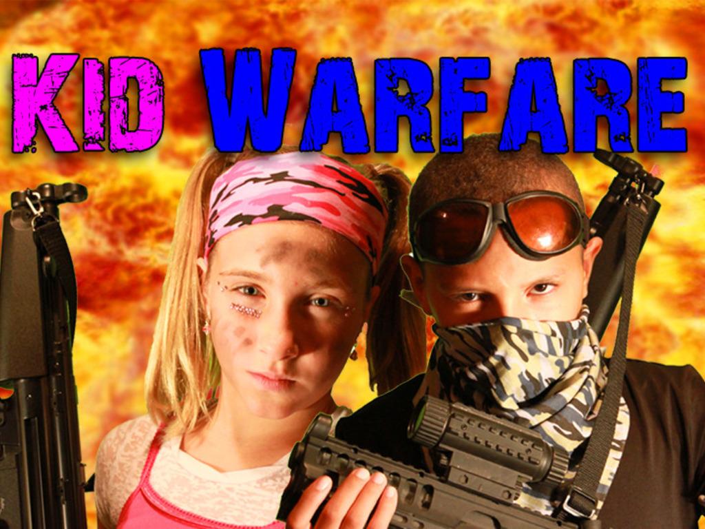 Kid Warfare's video poster