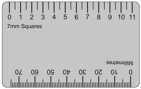 Satisfactory image pertaining to millimeter printable ruler