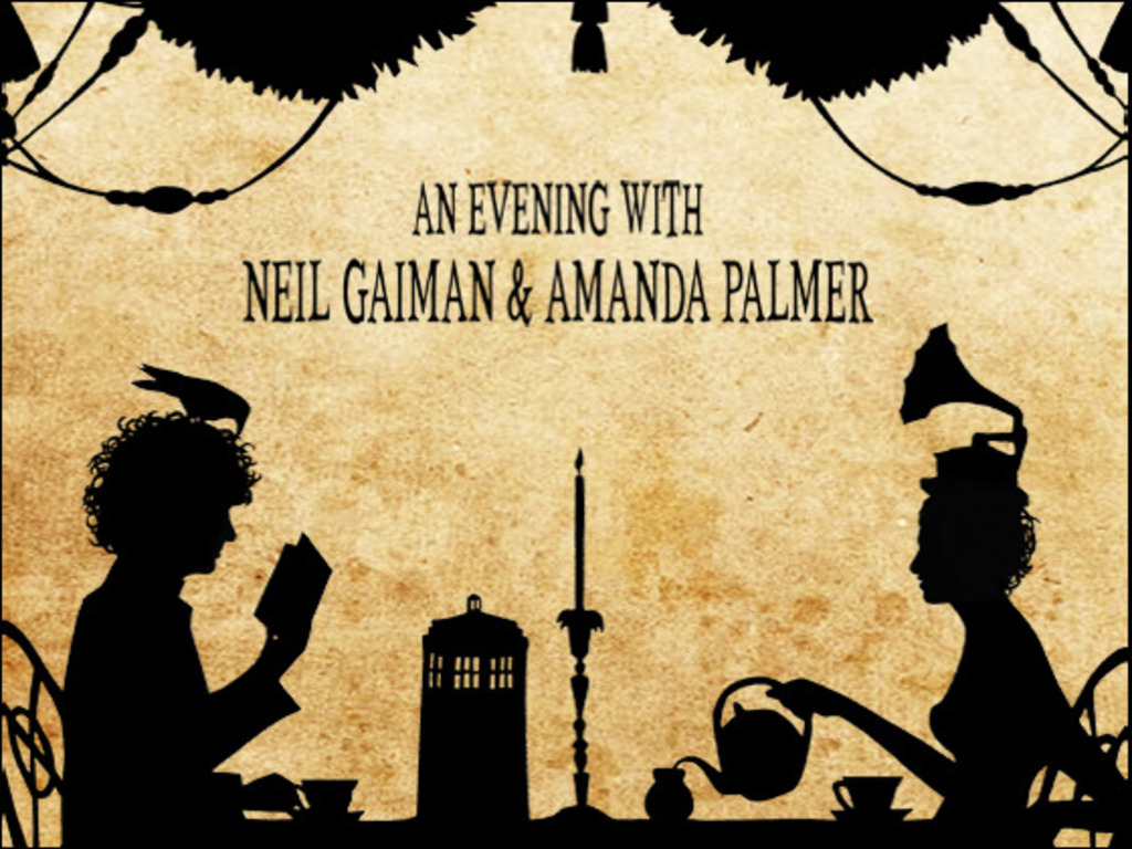 An Evening With Neil Gaiman & Amanda Palmer's video poster
