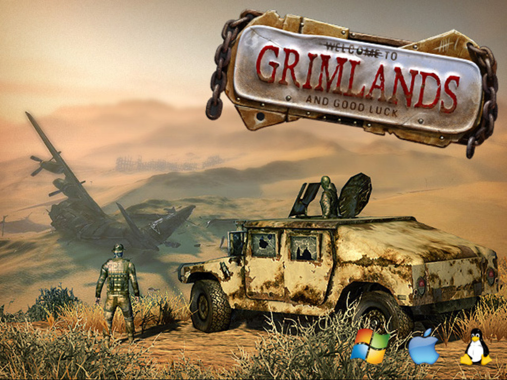 Grimlands - a post-apocalyptic RPG/Shooter MMO (Canceled)'s video poster