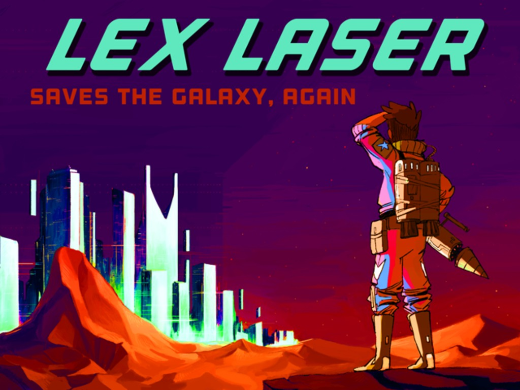Lex Laser Saves The Galaxy, Again's video poster