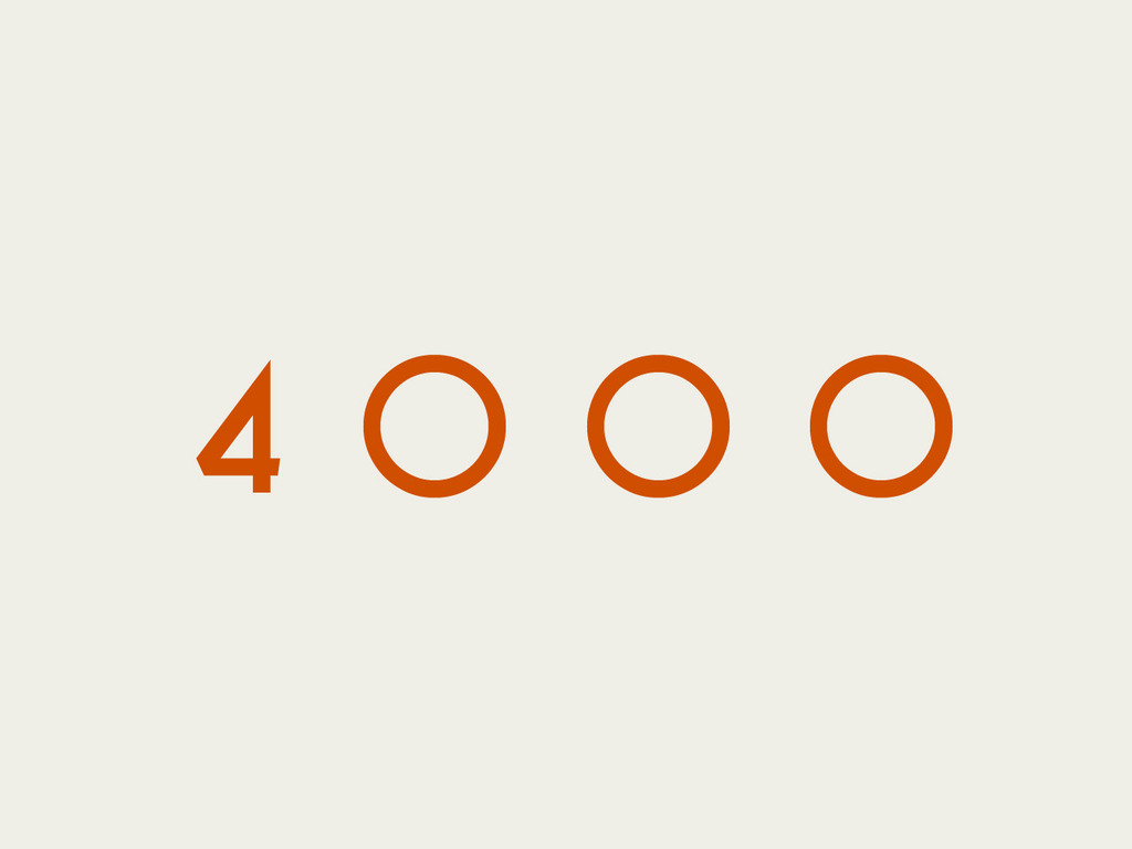 4000: A Documentary's video poster