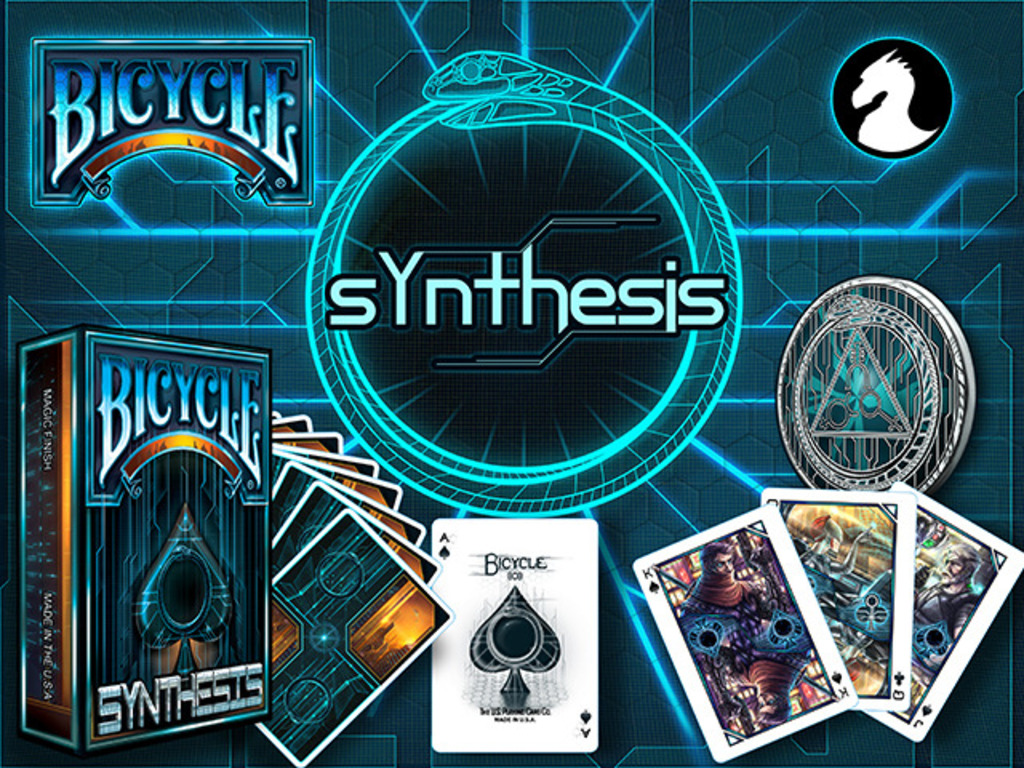 Albino Dragon's Synthesis Cyberpunk Playing Cards's video poster