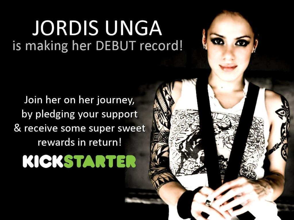 JORDIS UNGA is making her debut record!!'s video poster