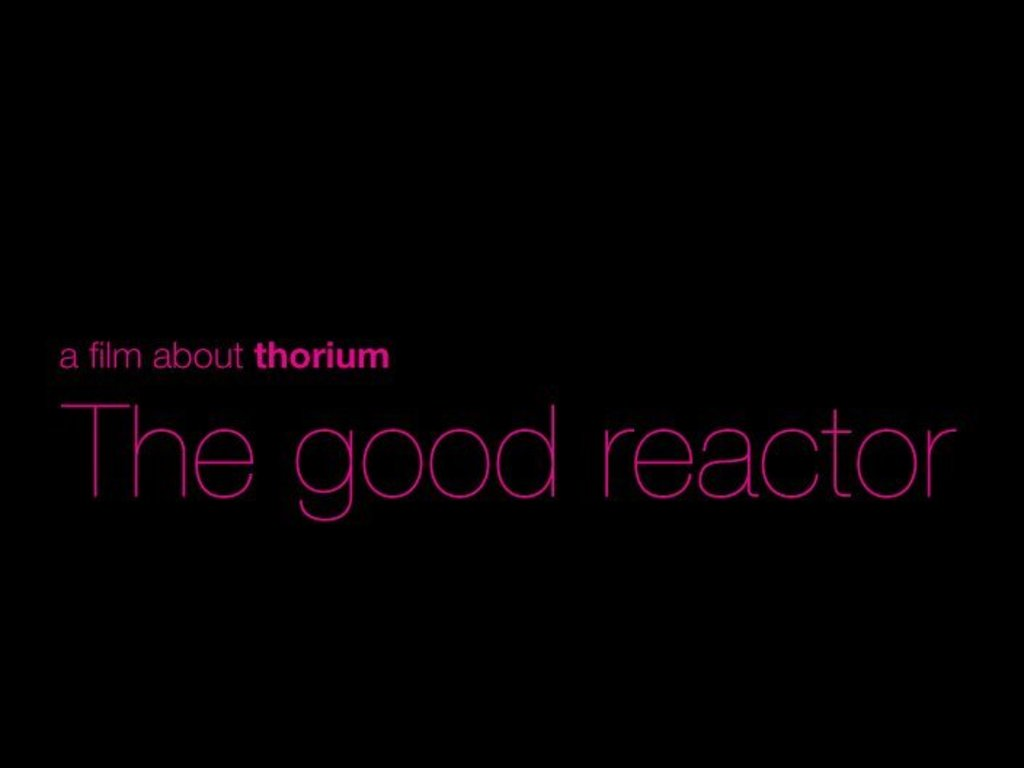 The Good Reactor's video poster