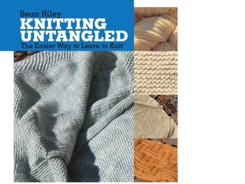 Knitting Untangled - A Learn to Knit Book's video poster