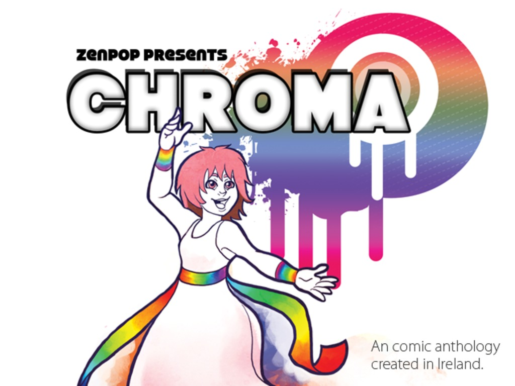The Chroma Anthology's video poster