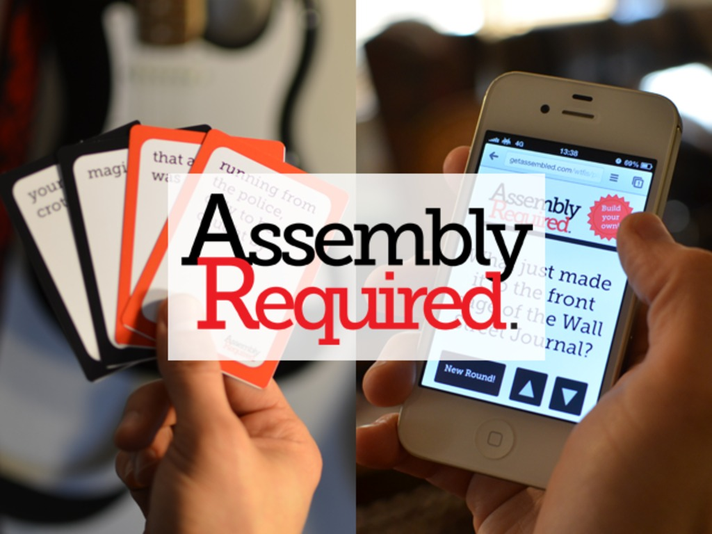Assembly Required's video poster