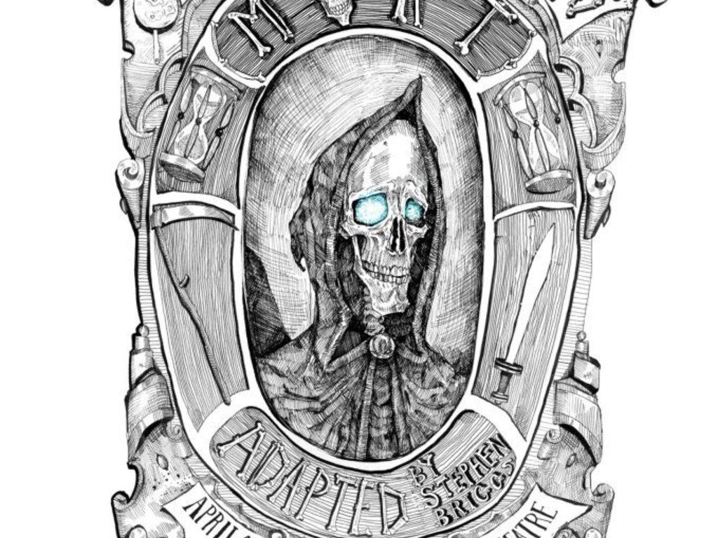 BUDS present Terry Pratchett's Mort's video poster