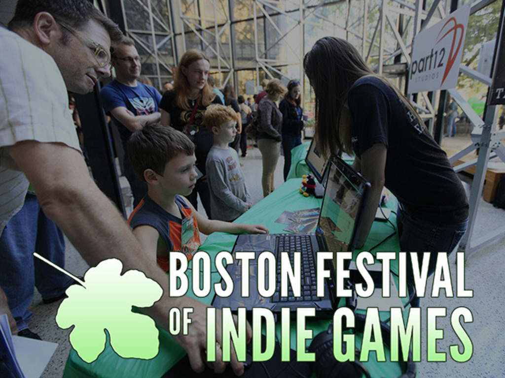 Boston Festival of Indie Games 2013's video poster