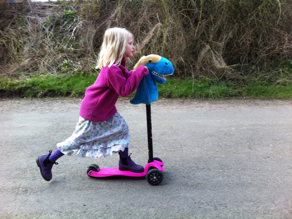 Hobbyheadz: A Fun and Furry, Kid's Toy Scooter Accessory's video poster
