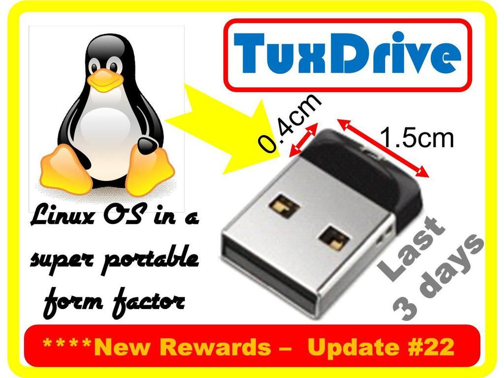 The 'Love Linux' Campaign: The TuxDrive & The TuxPoster's video poster