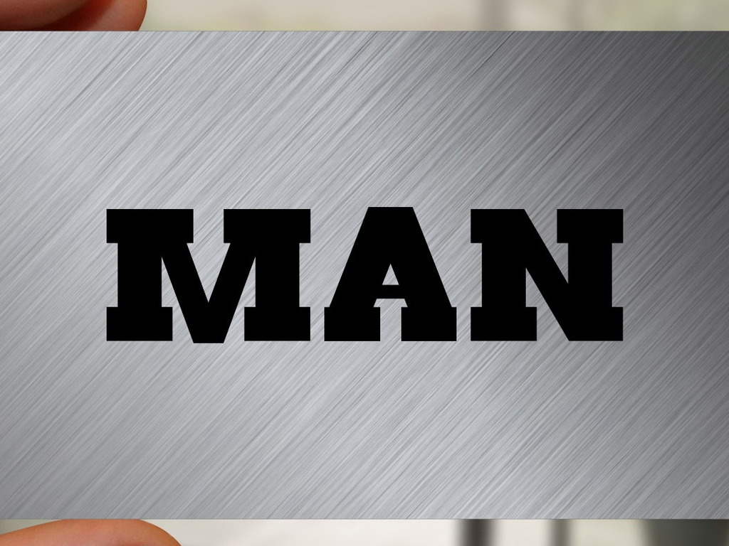 The Man Card's video poster